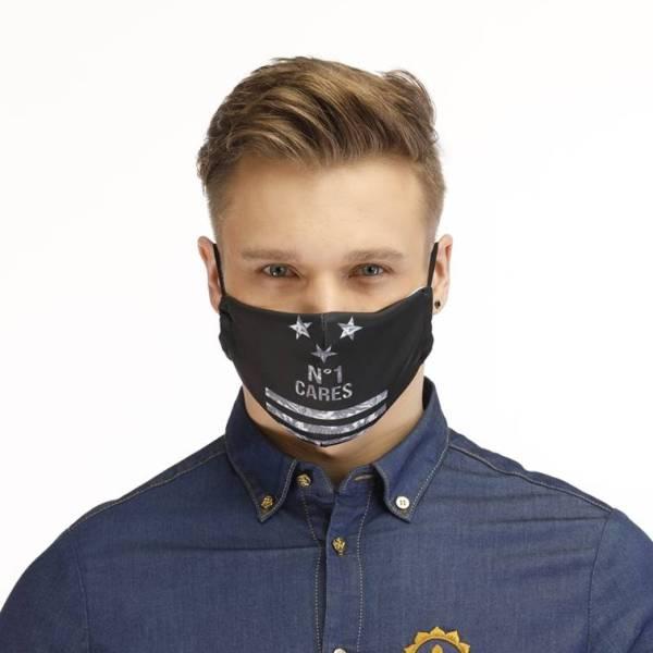 Gesichtsmaske Motiv