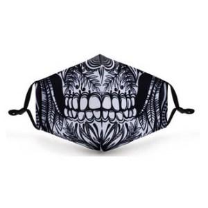 Geischtsmasken Motiv Skull