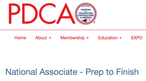 prep to finish joins pdca