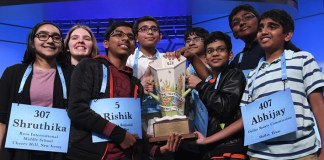 Eight children declared co-winners of US National Spelling Bee, seven of them are Indian-Americans