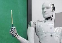 Humanoid robots teaching Class 7-9 students at Bengaluru school