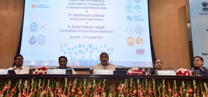S Jaishankar launches Ph.D. fellowship programme for students from ASEAN countries