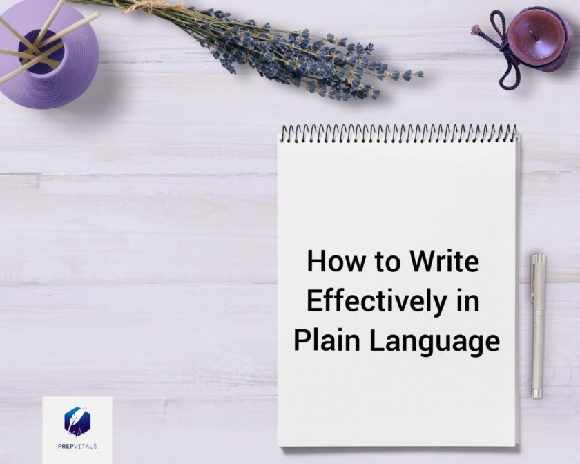 How to Write Effectively in Plain Language