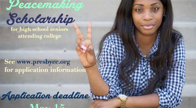Peacemaking $1,000 Scholarship