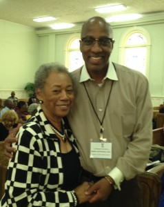 Presbytery Moderator Marye Jeffries and Rev. Dr.  J Herbert Nelson