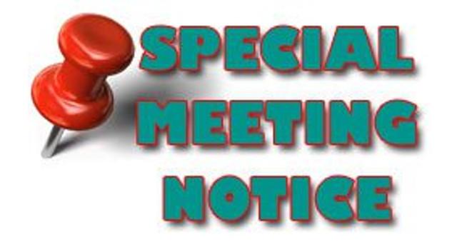 Special Presbytery Meeting