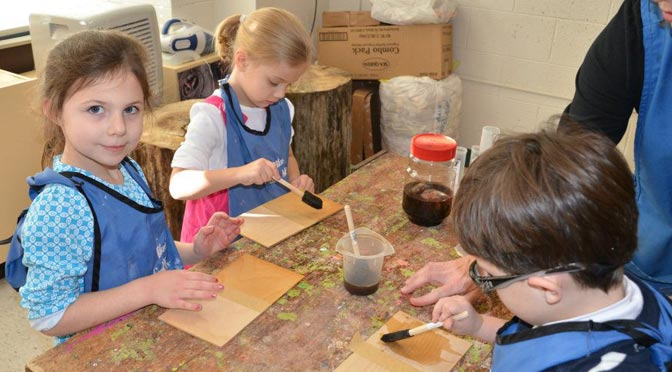 St. Paul's Preschool Wood and Clay Shop