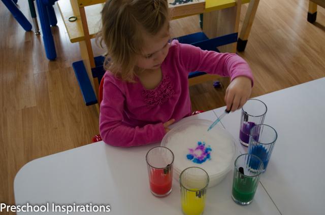 DIY Liquid Watercolor by Preschool Inspirations