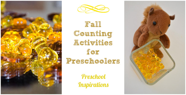 Fall Math Activities by Preschool Inspirations