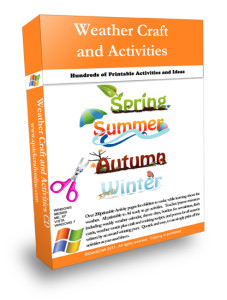 Kids seasonal activities and weather theme activities.