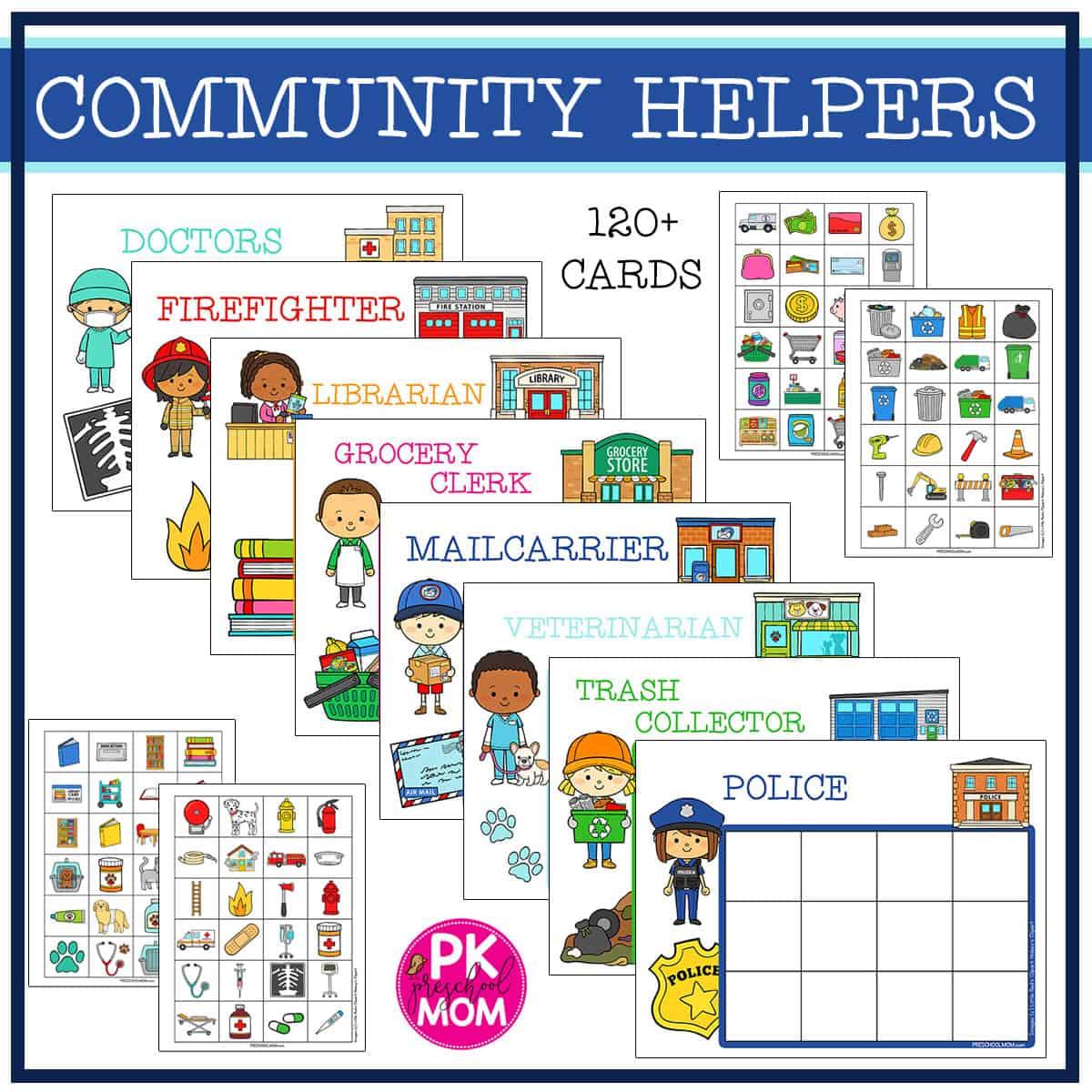 Community Helpers Preschool Activities