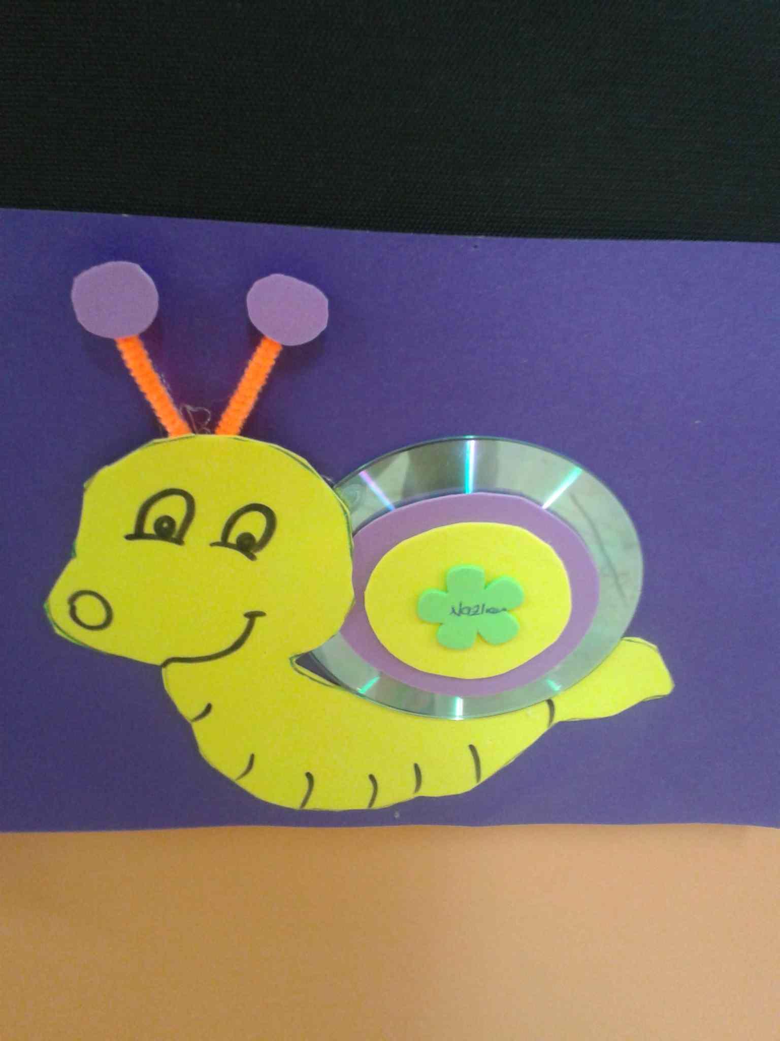 Snail Craft For Kids Preschoolplanet