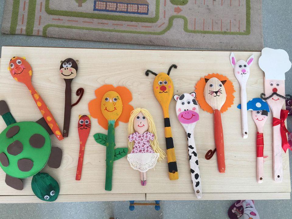Help them create a mosaic masterpiece. Spoon Crafts For Kids Preschoolplanet