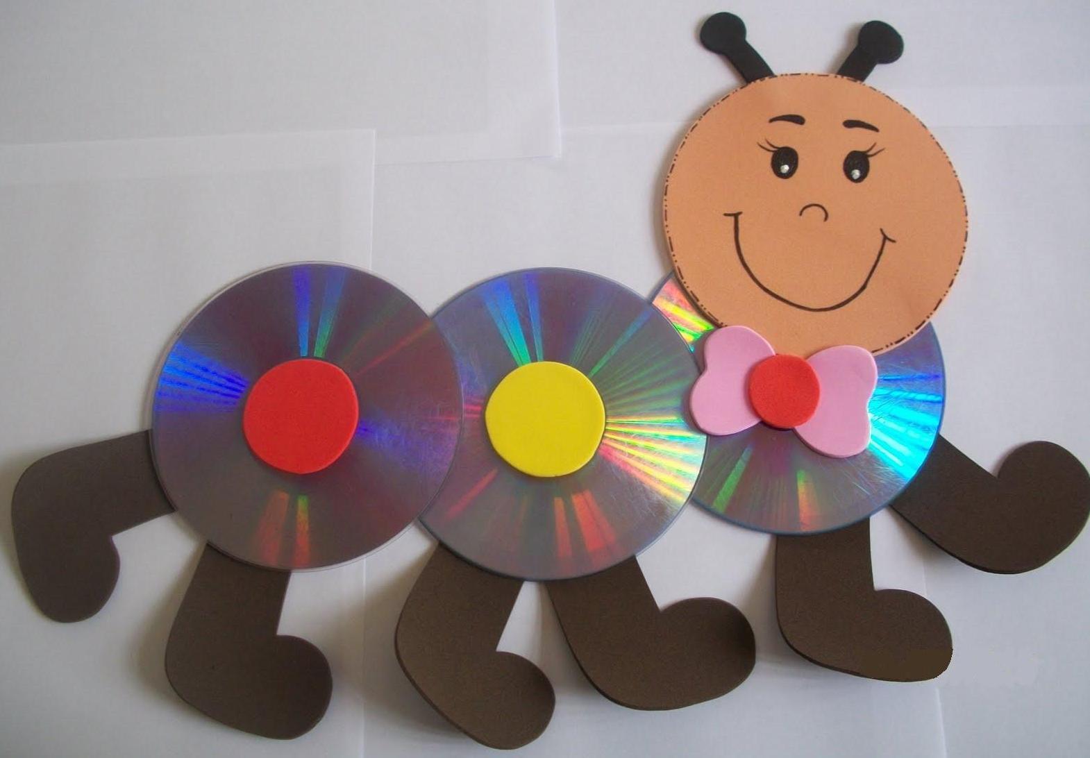Cd Craft Idea For Kids Preschoolplanet
