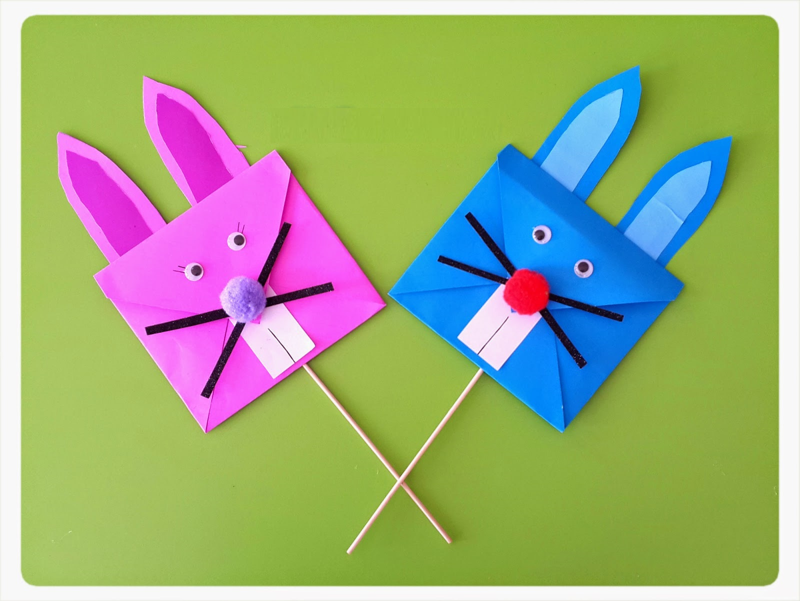 Easter Bunny Craft Idea For Kids Preschoolplanet