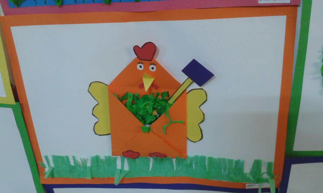 Envelope Chicken Craft Preschoolplanet