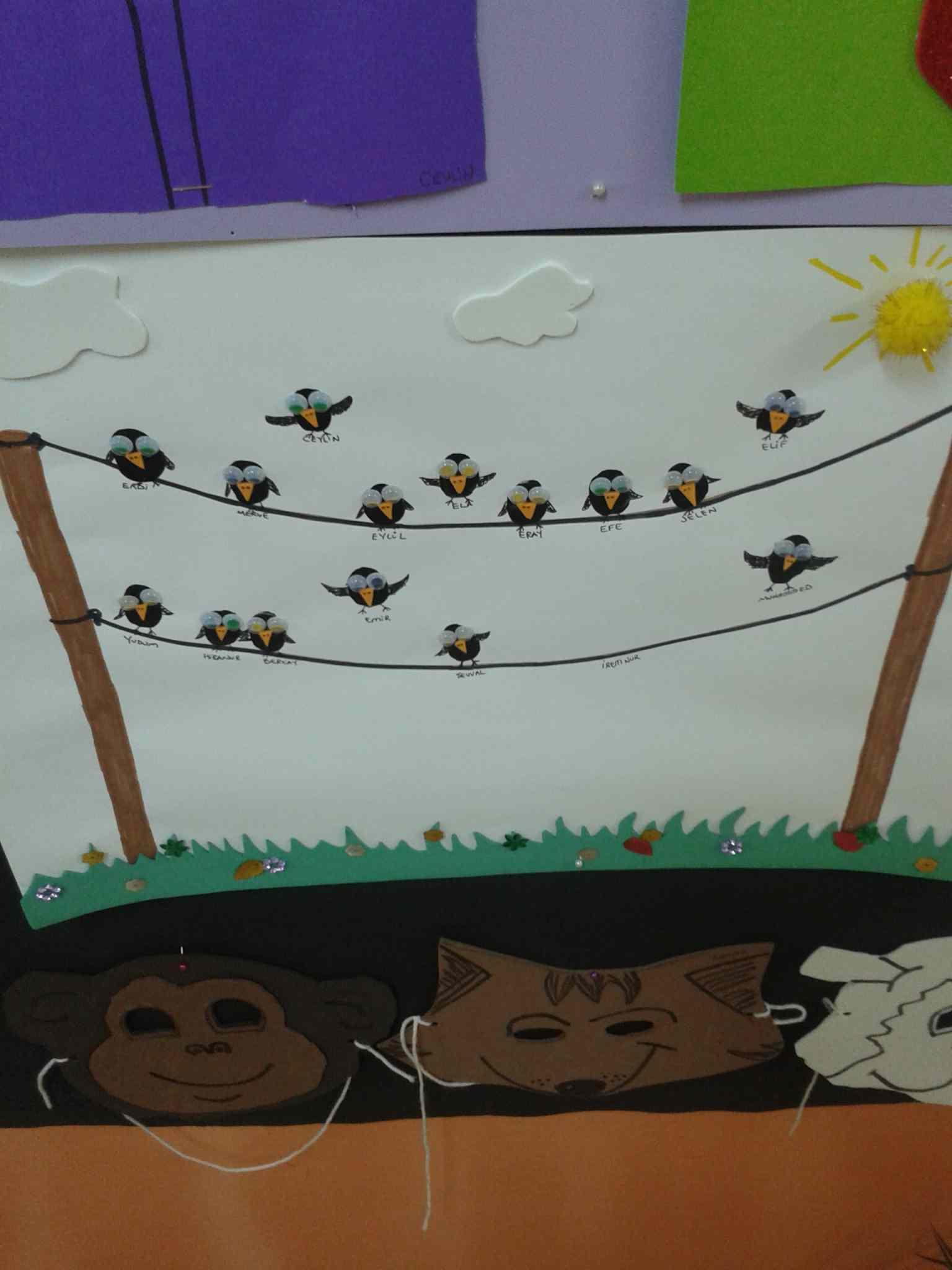 Fingerprint Crafts For Kids Preschoolplanet
