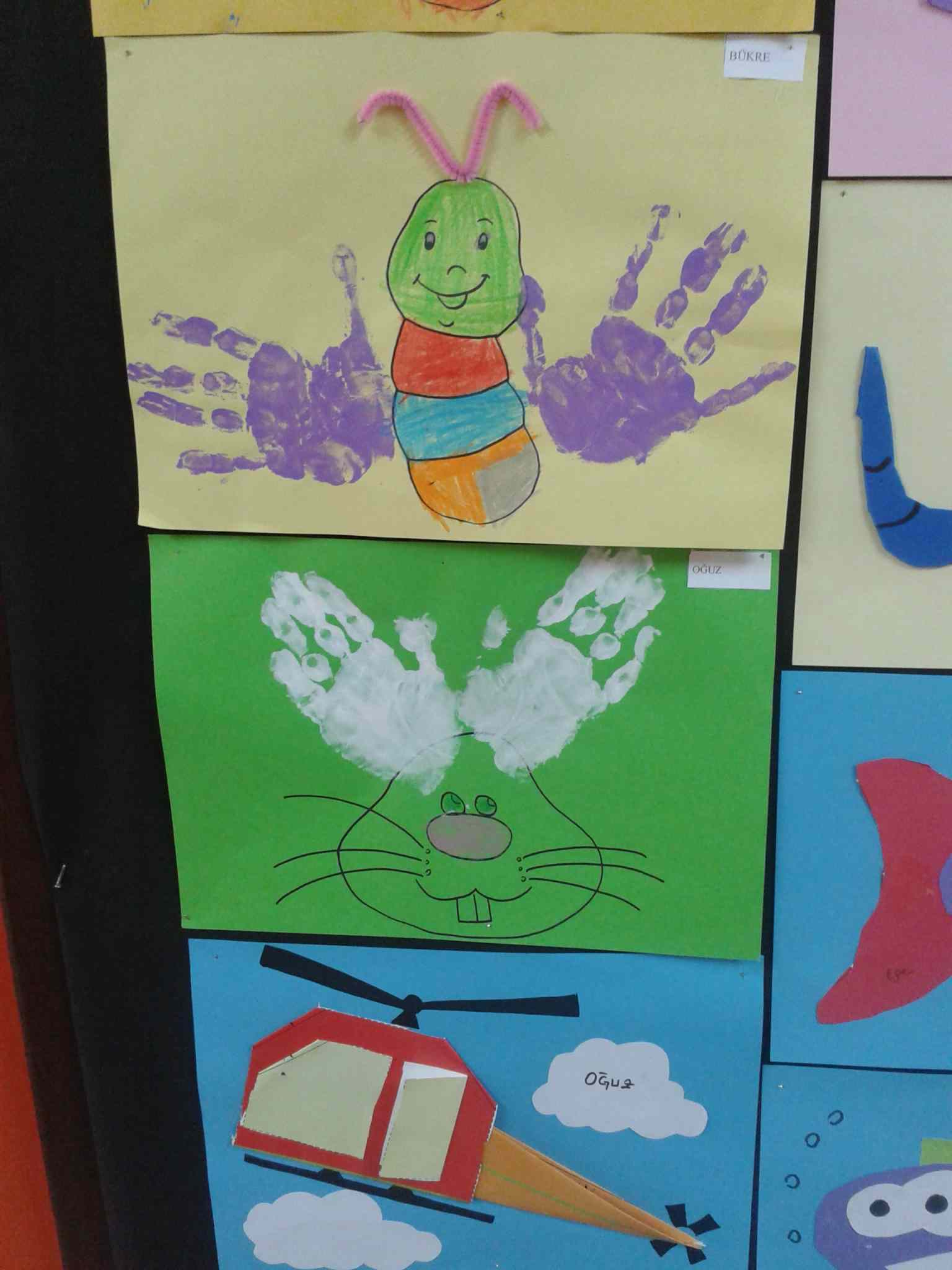 Handprint Crafts Idea For Kids Preschoolplanet