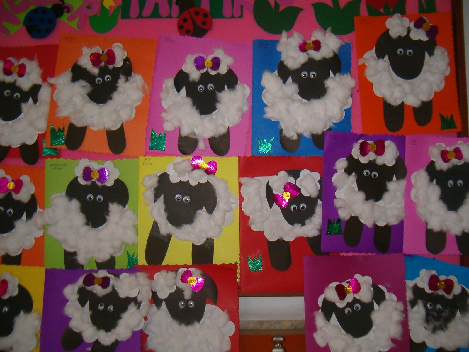 Lamb Craft Preschoolplanet