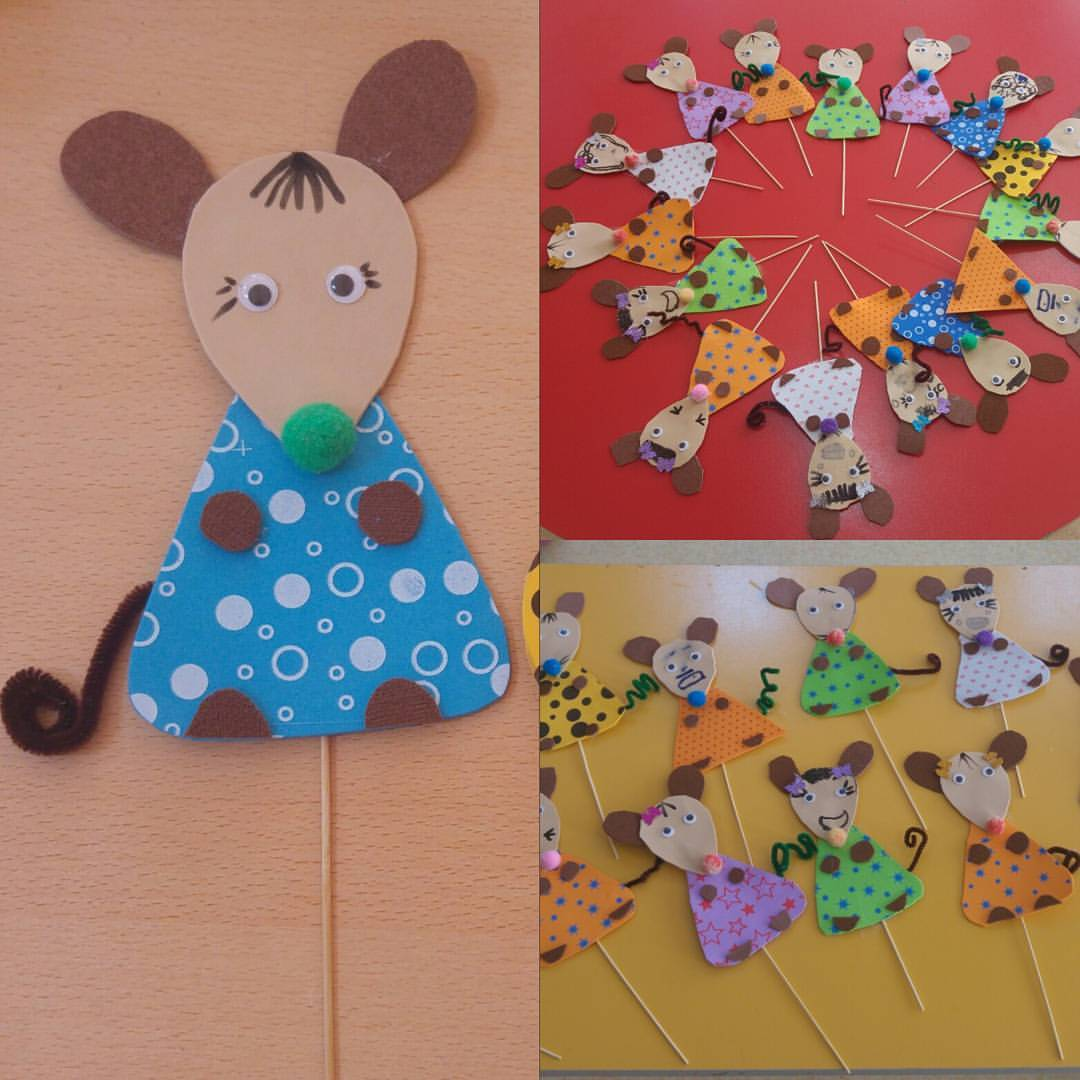 Mouse Crafts For Kids Preschoolplanet