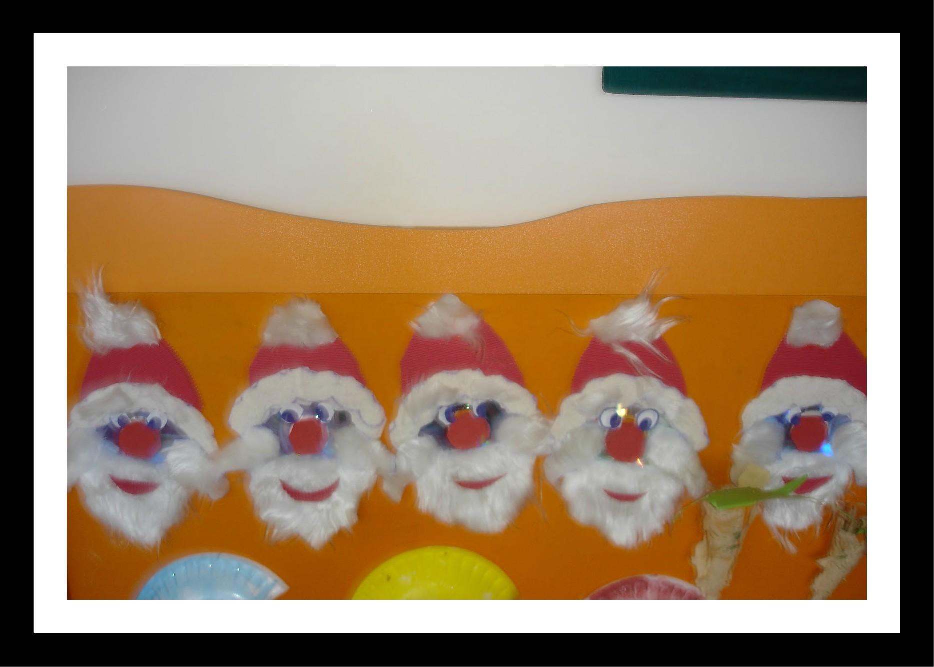 Santa Claus Craft Idea For Kids Preschoolplanet