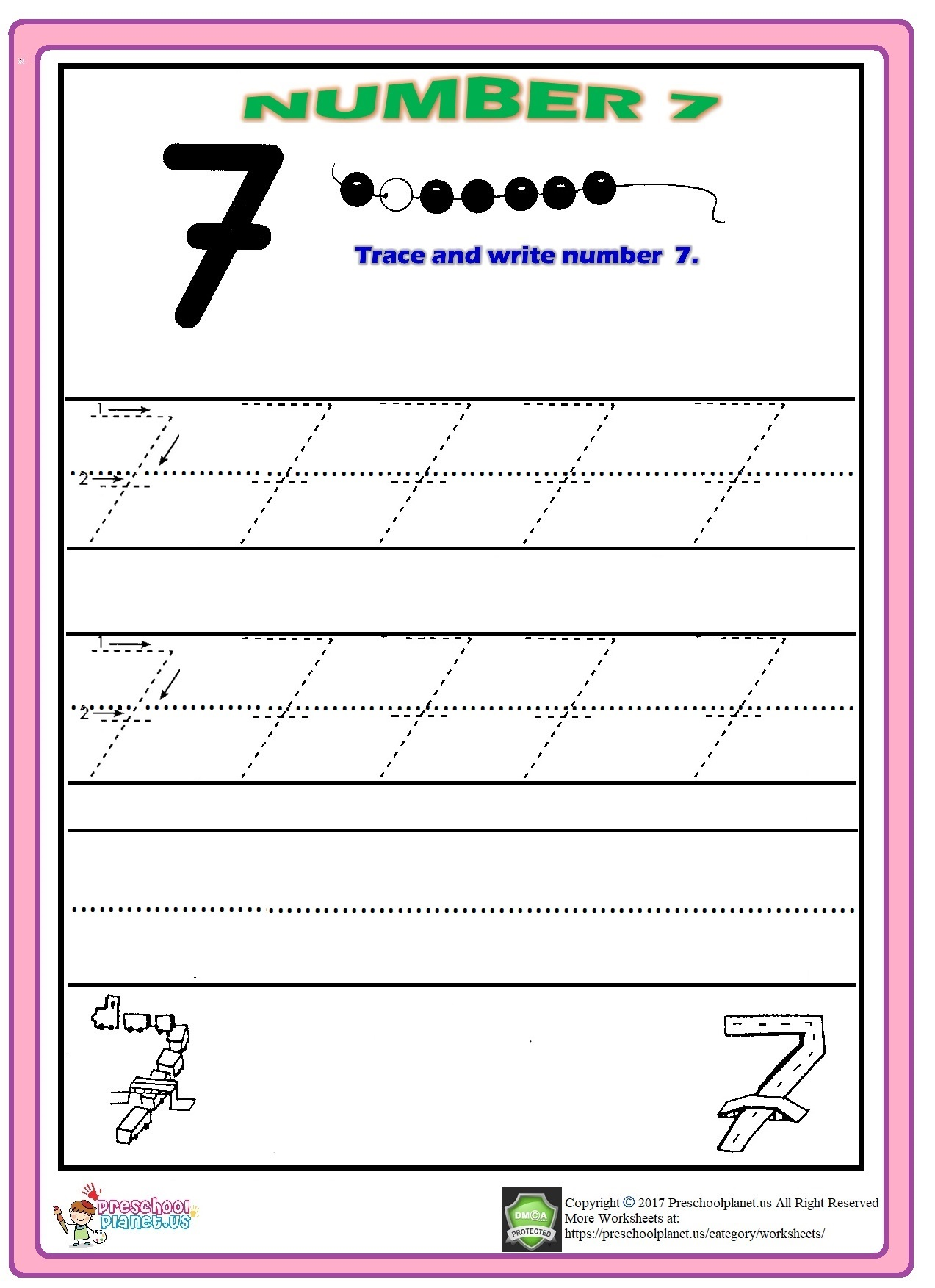 17 Number Butterfly Worksheet