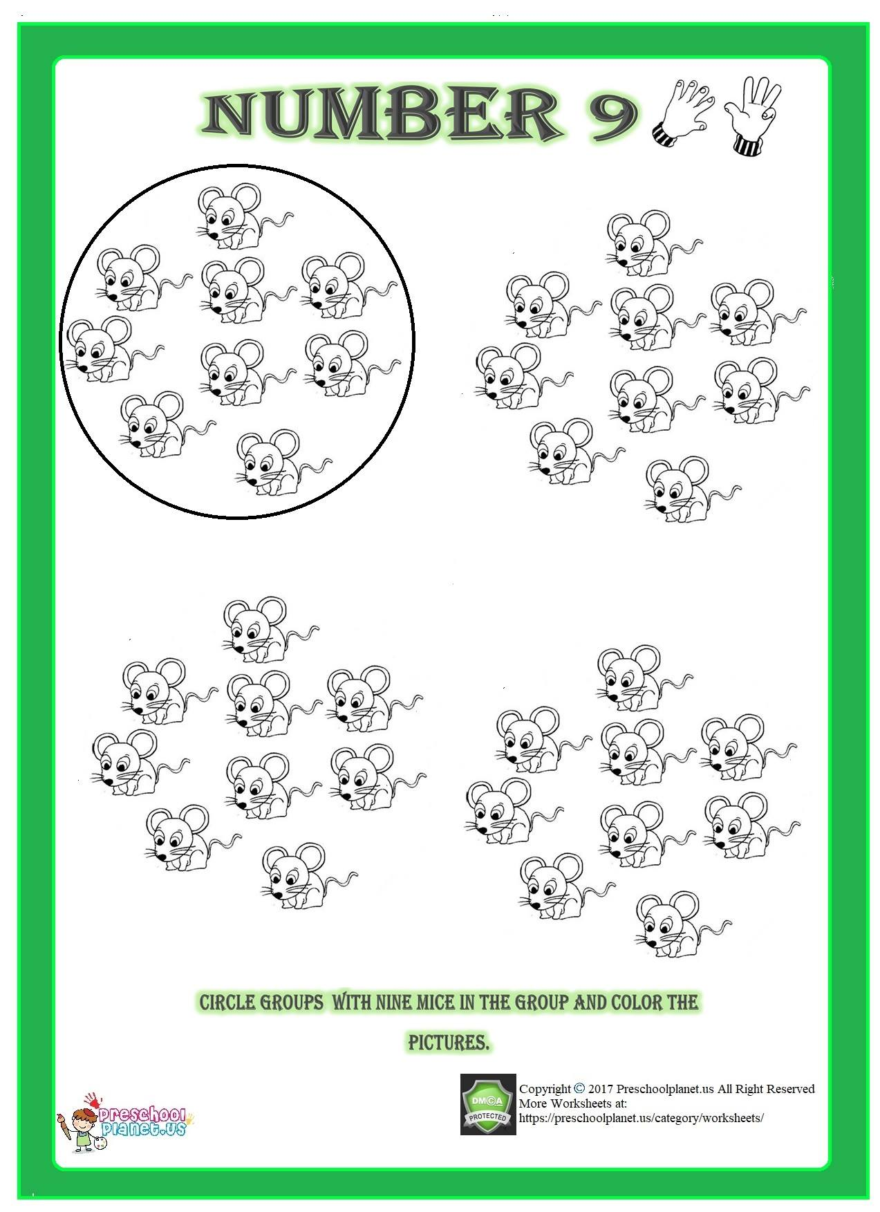 Shapes Trace Worksheet For Kids Preschoolplanet