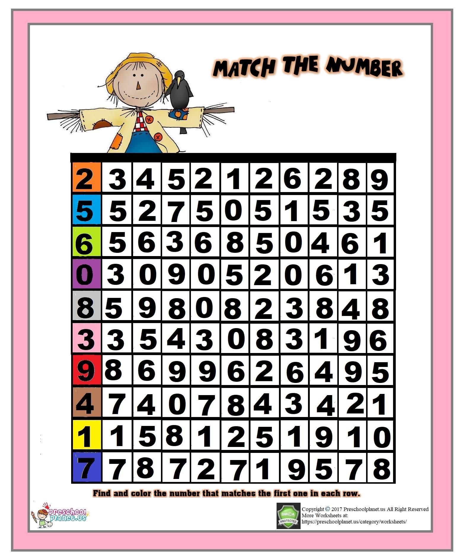 Free Printable Spring Worksheet For Kids Preschoolplanet