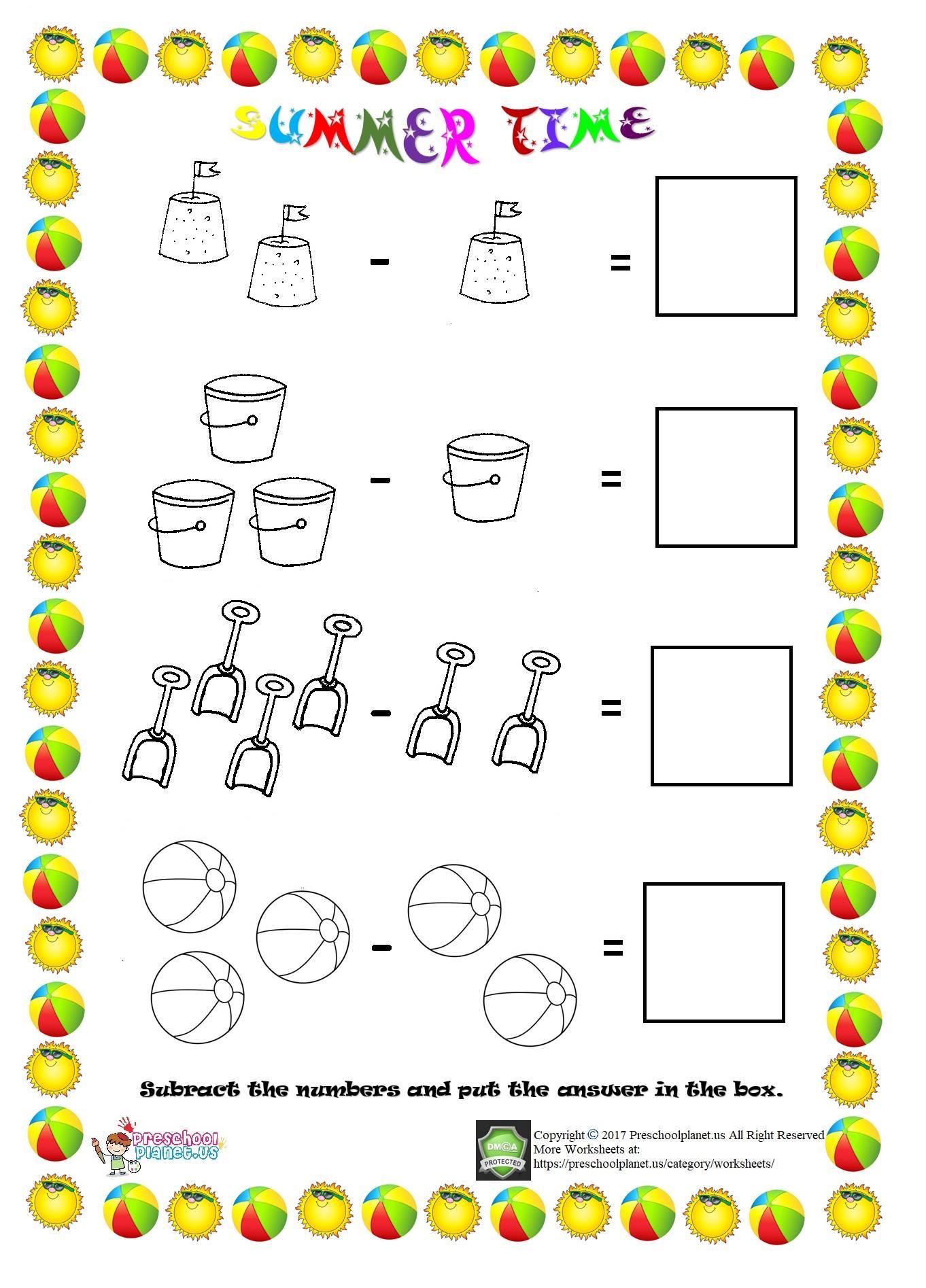 Rectangle Trace Worksheet Preschoolplanet