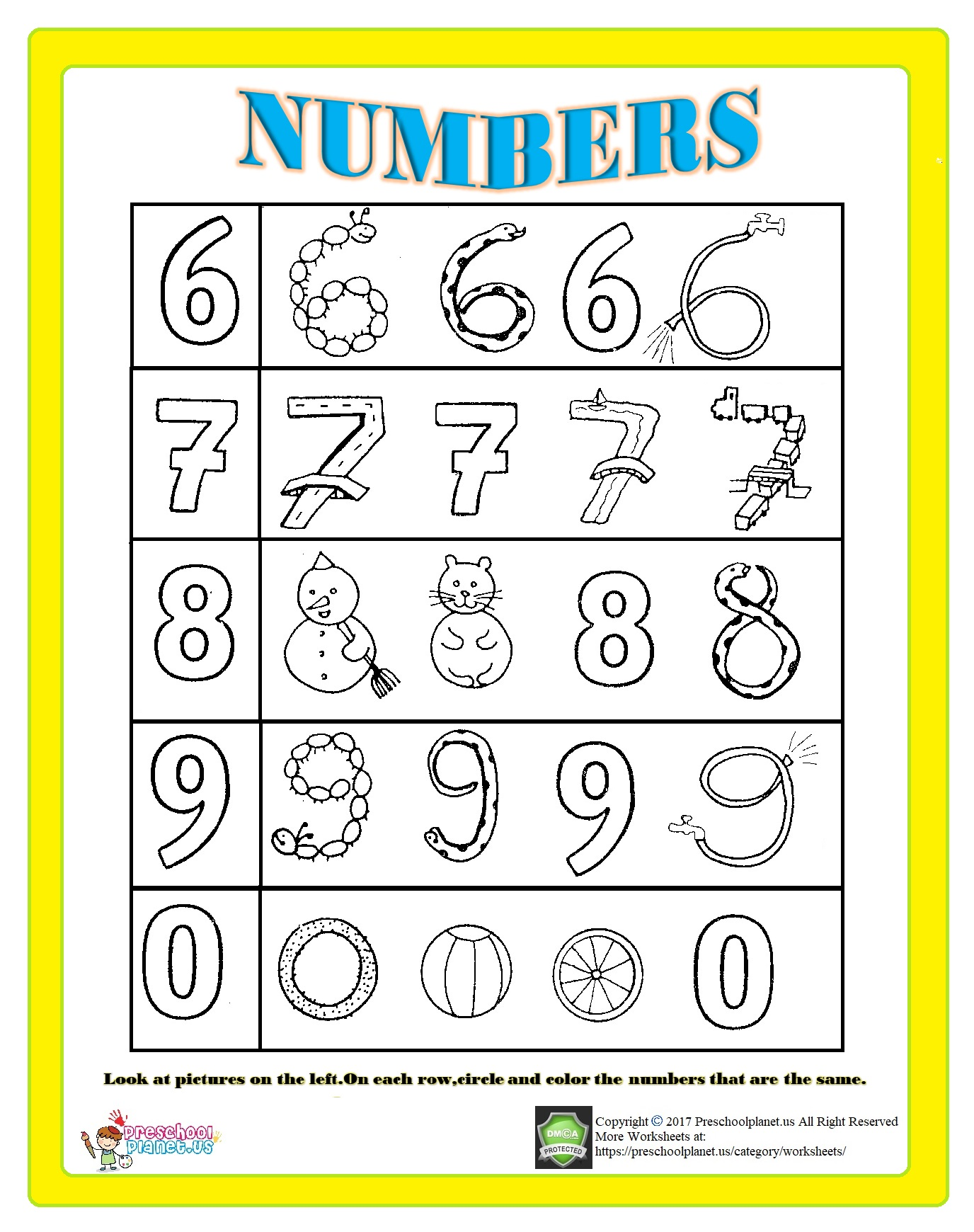 Number 2 Worksheet For Kids Preschoolplanet