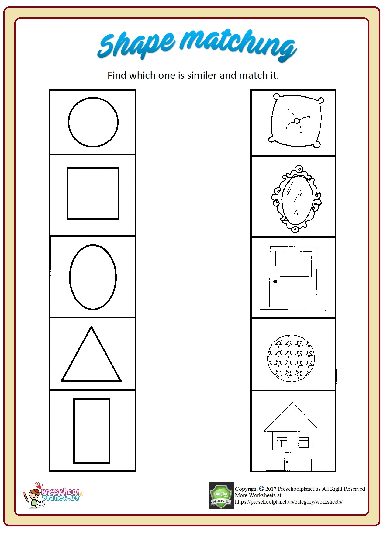 Worksheet Shapes Christmas Graphing Kindergenl