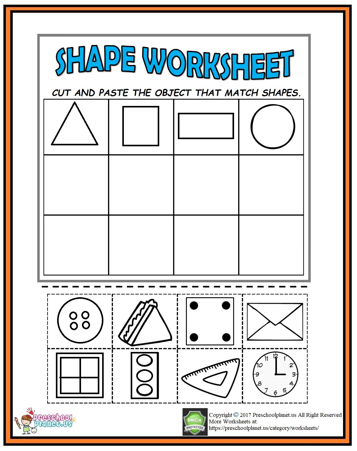 Cut And Paste Worksheets Transportation