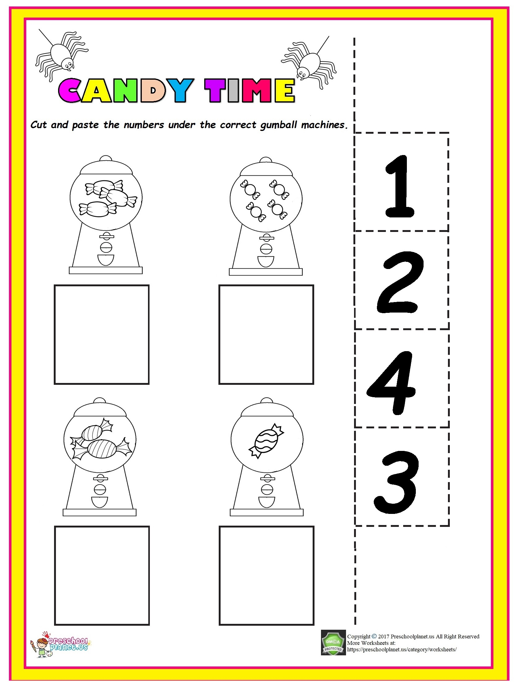 Number 3 Worksheet For Kindergarten Preschoolplanet