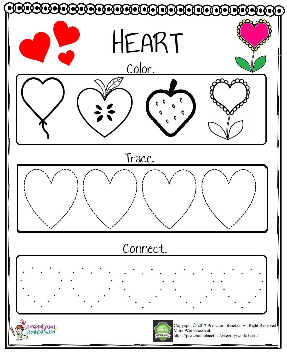 Missing Number Worksheet Preschoolplanet