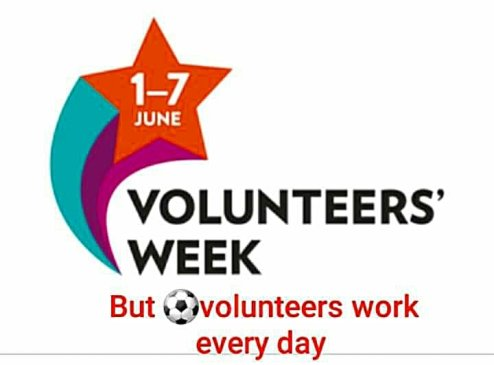 Happy Volunteer Week – A huge thank you to you all!