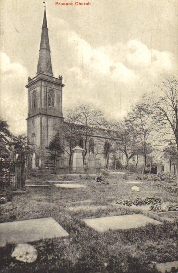 Prescot Parish Church: Vintage Photos – Prescot Online