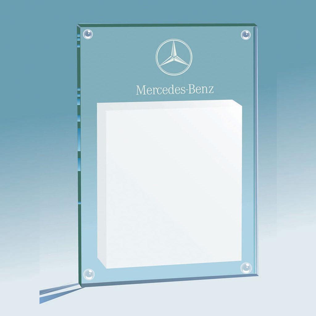 Support En Verre Pour Un Bloc Repositionnable Mercedes Benz Prescott