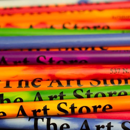 art store pencils