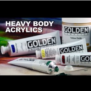 Free Golden Acrylics Apron