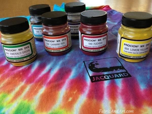 Tie Dye your T-shirt
