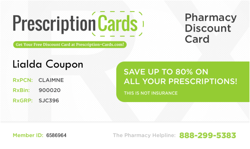 Free Lialda Saves Up To 80 Prescription Cards Com