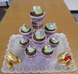 Assignment 3 Easter cupcakes