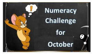 Numeracy Challenges for October