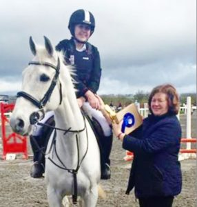 Congratulations to Anna Lufer was placed second in the individual class of the Interschool's Ireland show jumping competition whilst representing the school.