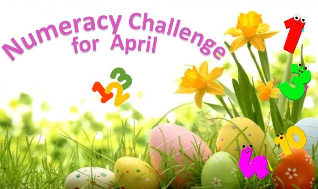 Numeracy Challenge for April