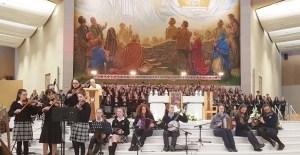 The Nano Nagle 300 concert in the Knock Basilica.