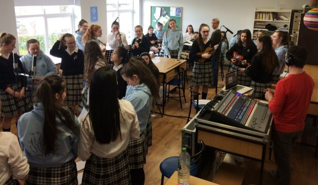 Song writing & recording workshop for Transition Years