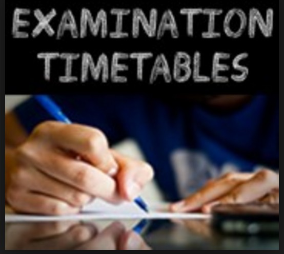 Mock Exam Timetables
