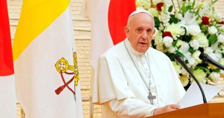 La única arma capaz de garantizar la paz es el diálogo, afirma el Papa en Japón