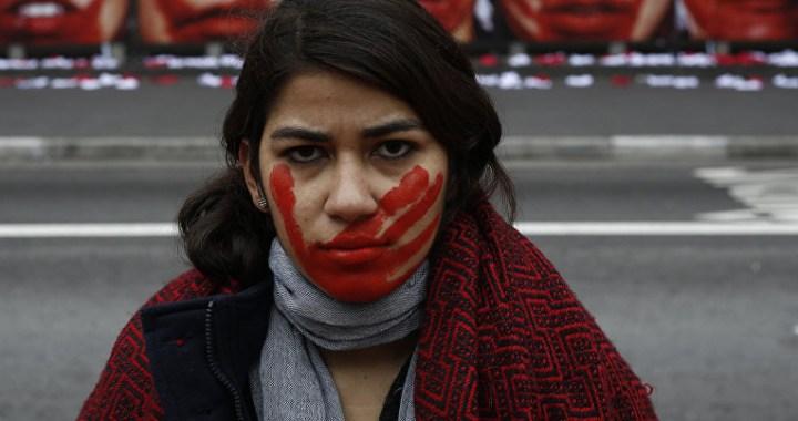 Protesta de Mujeres contra la Violencia